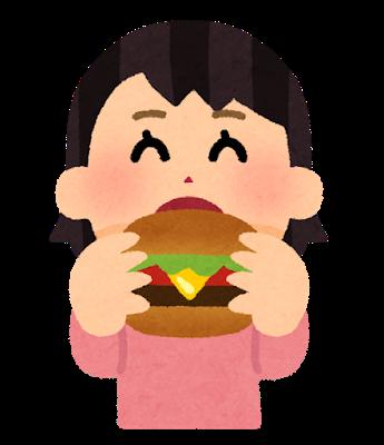syokuji_hamburger_girl.png